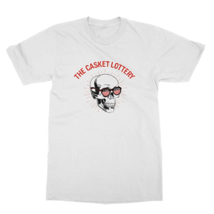 The Casket Lottery | Skull T-Shirt - White