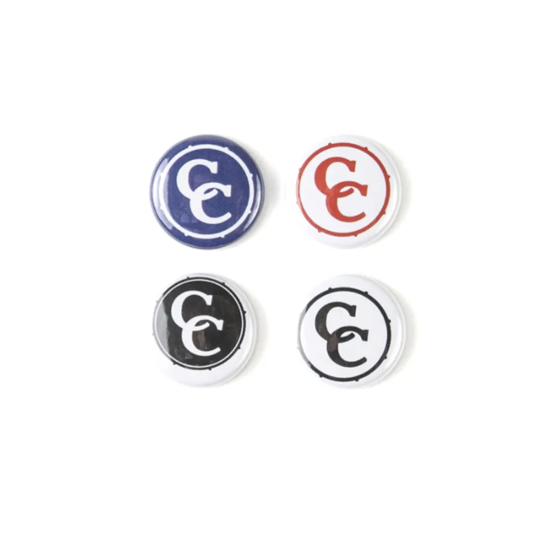C&C Drum Co. | Logo Button- 4 Pack