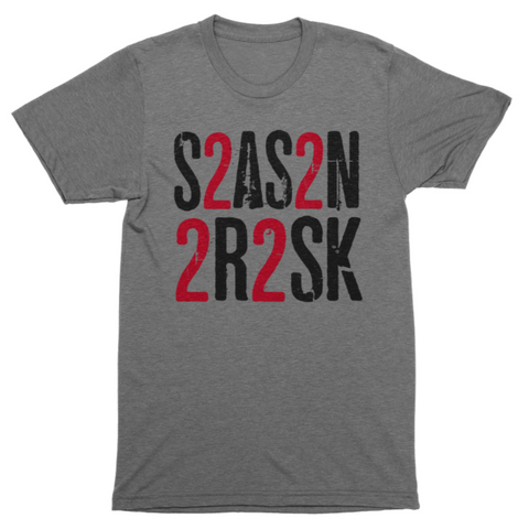 Season To Risk | Text T-Shirt