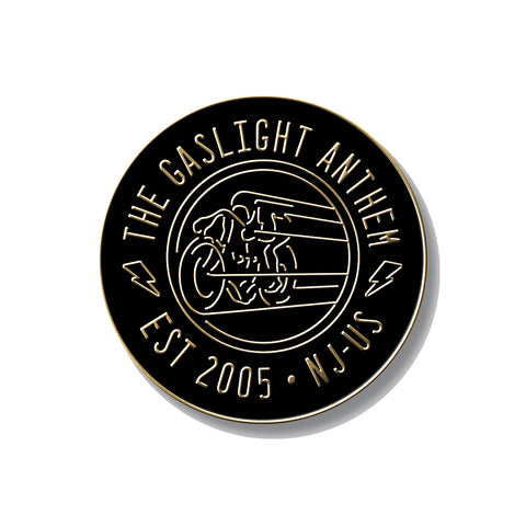 "The Gaslight Anthem | 1"" Moto Enamel Pin"