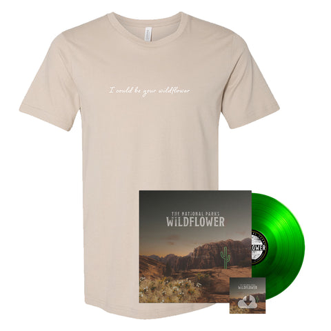 The National Parks | Wildflower LP + T-Shirt + Digital Download Bundle *Preorder*