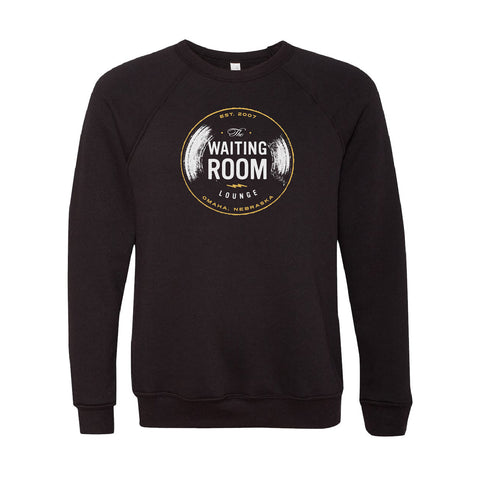 The Waiting Room | Logo Sweatshirt - Black