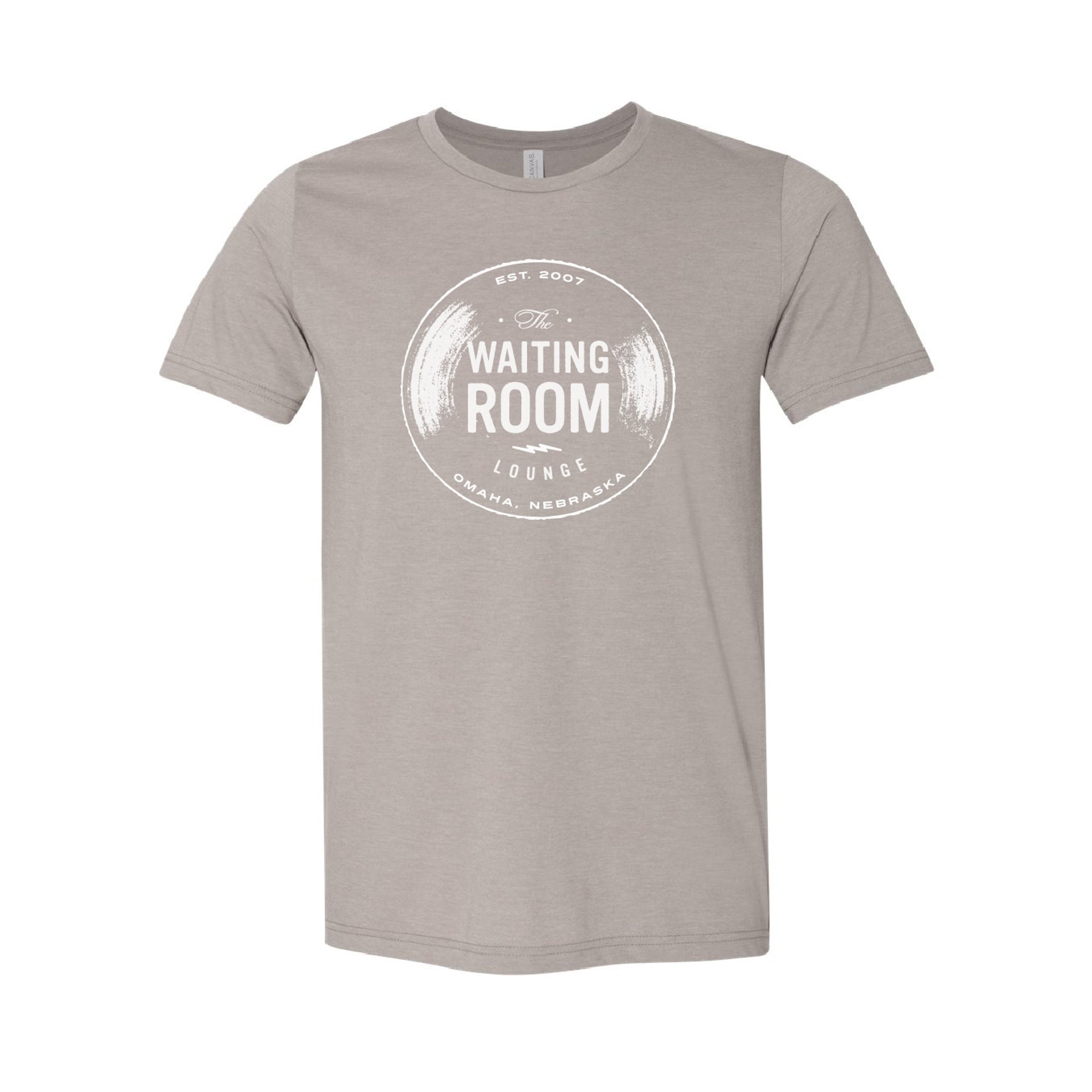 The Waiting Room | Logo T-Shirt - Heather Stone