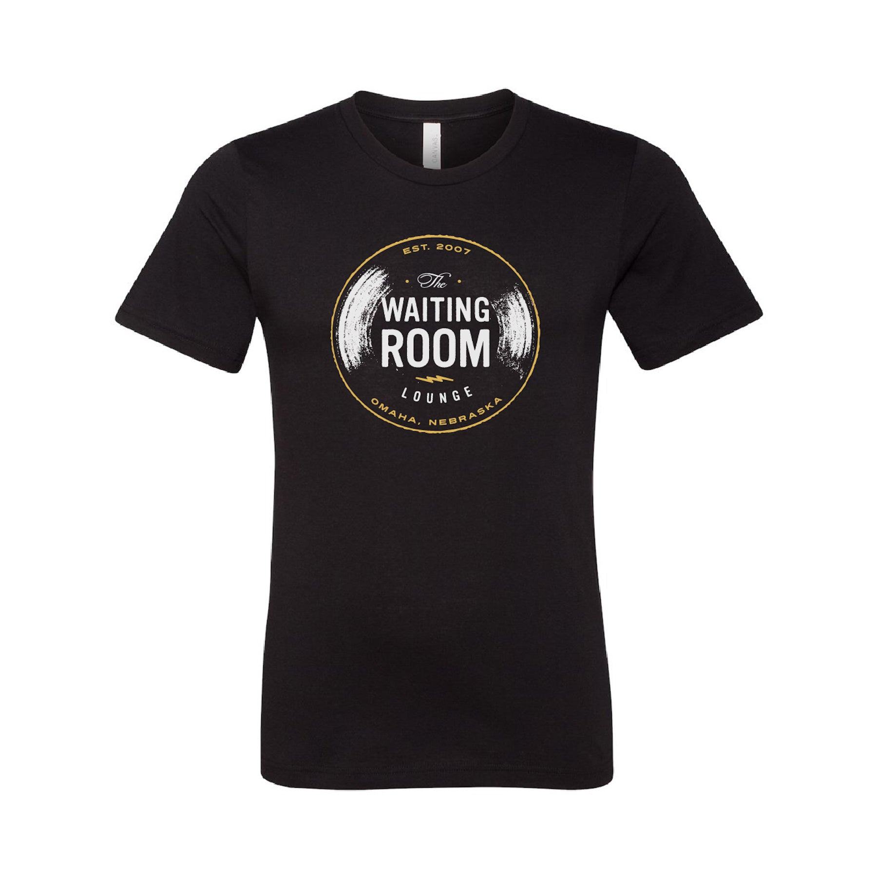 The Waiting Room | Logo T-Shirt - Black