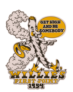 Luck Reunion | Willie's First Joint Sticker -PREORDER-