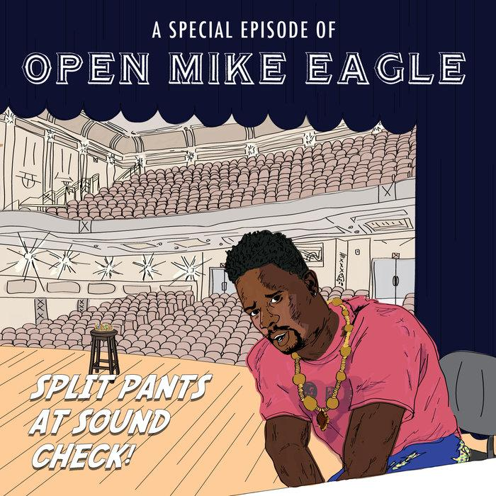 "Merch Engine | Open Mike Eagle | ""A Special Episode Of Open Mike Eagle: Split Pants At Sound Check!"" Vinyl"
