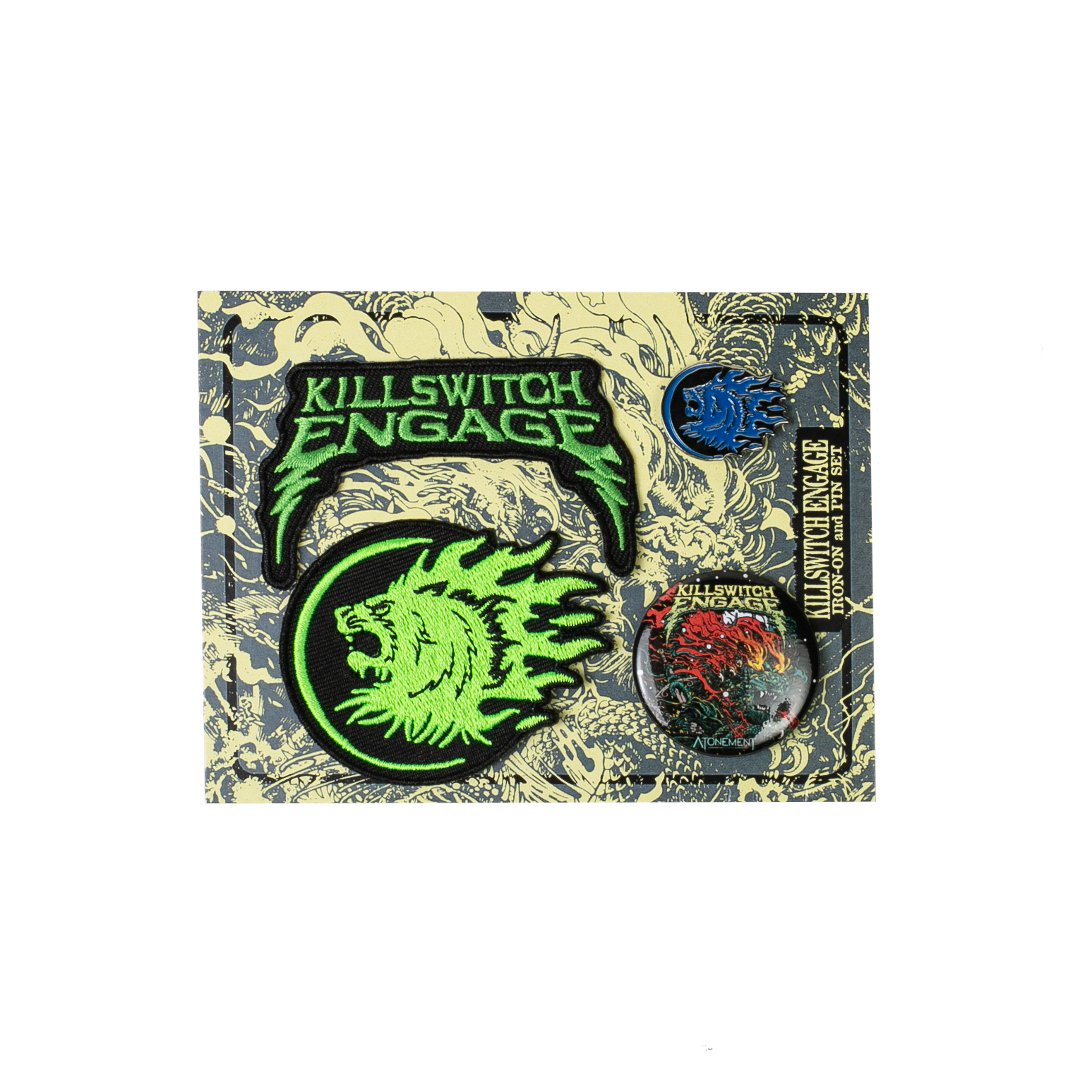 Killswitch Engage | Pin/Patch Set