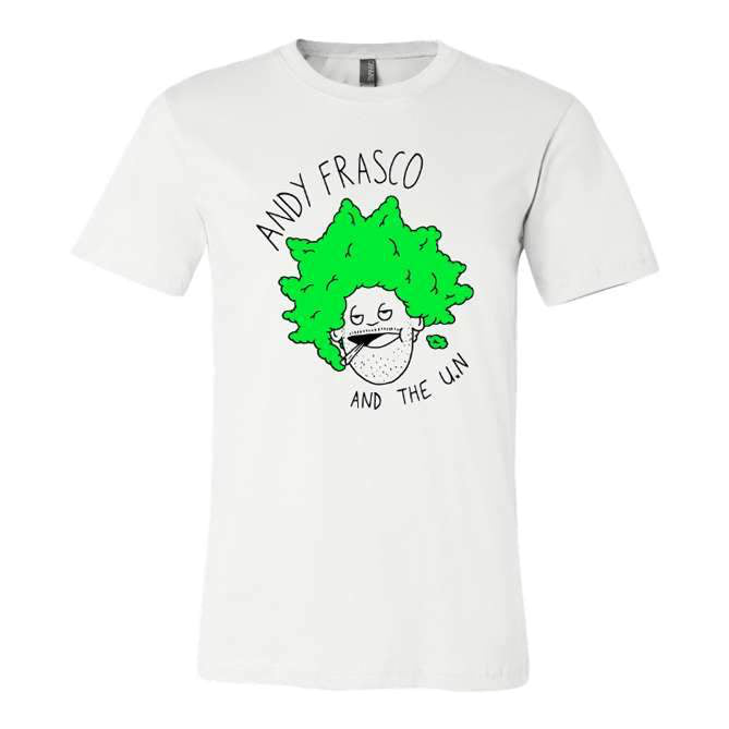 Andy Frasco Face t-shirt in white
