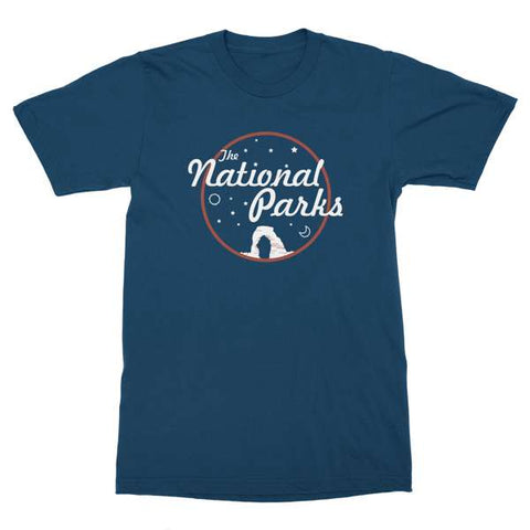 The National Parks | Arches Blue T-Shirt