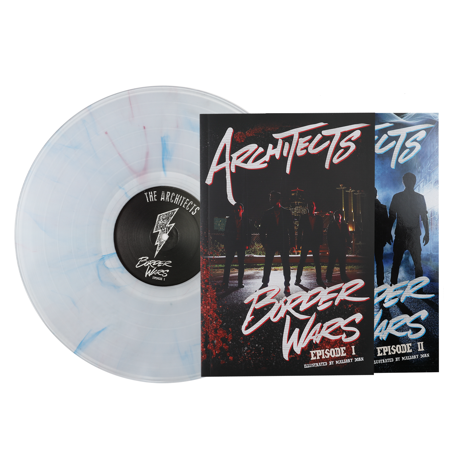 Architects | Border Wars Comic Book / LP Bundle