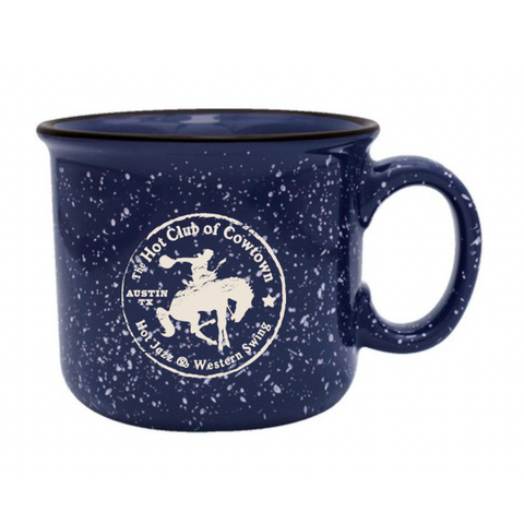 Hot Club Of Cowtown | Horse Logo Mug - Blue
