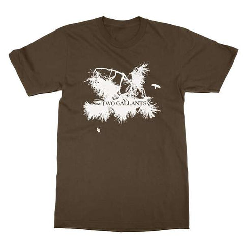 Two Gallants | Women's Branch T-Shirt - Brown