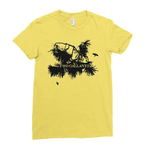 Two Gallants | Women's Branch T-Shirt - Cream