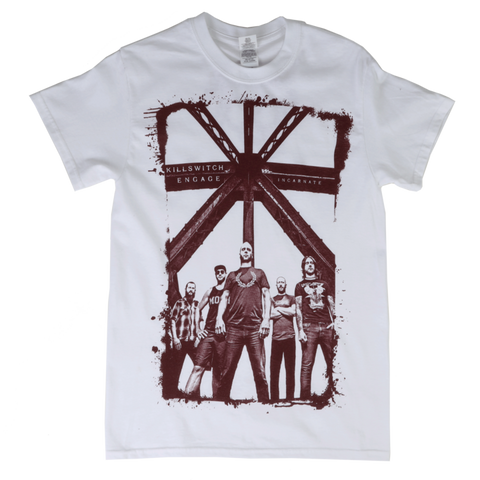 Killswitch Engage Vault | Incarnate T-Shirt - White