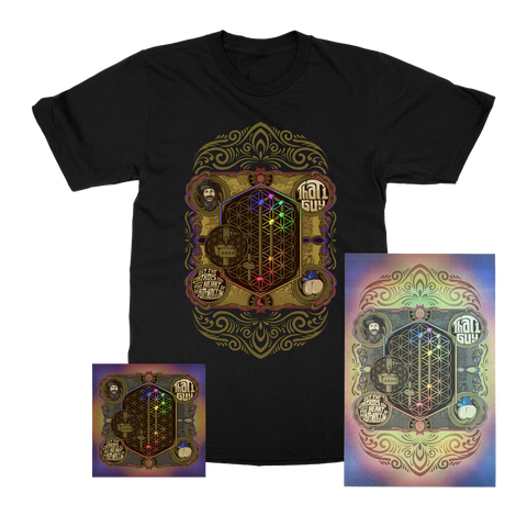 That 1 Guy | Set The Controls For The Heart Of The Buttnoggin | SIGNED Poster + T-Shirt + CD Bundle