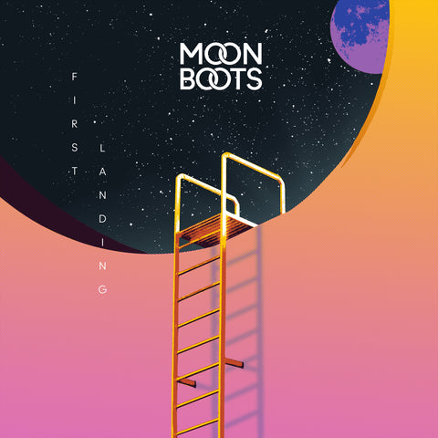 Moon Boots | First Landing Screen Print