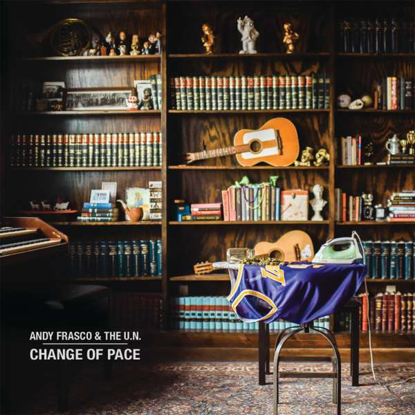 "Andy Frasco ""Change of Pace"" album artwork"