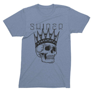 Shiner | David Cook Skull T-Shirt - Blue