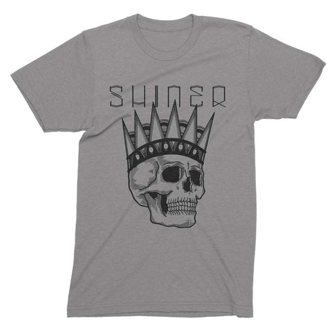 Shiner | David Cook Skull T-Shirt - Grey