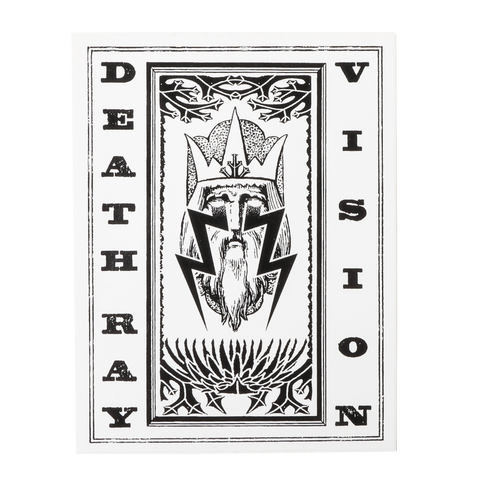 Death Ray Vision | Wizard Bolt Sticker