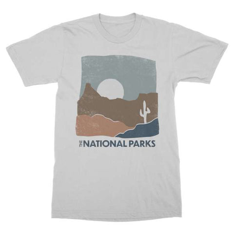 The National Parks | Desert Grey Heathered T-Shirt