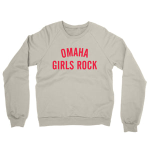 Omaha Girls Rock | Crewneck Sweatshirt - Desert