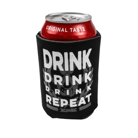 Killswitch Engage Vault | Drink Repeat Koozie - Black