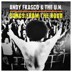"Andy Frasco ""Songs From The Road"" Album Art"