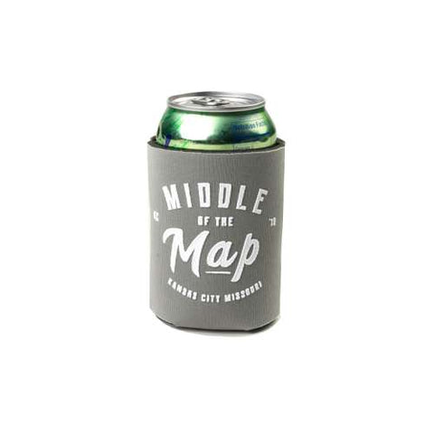 Middle of the Map Fest | Grey Koozie