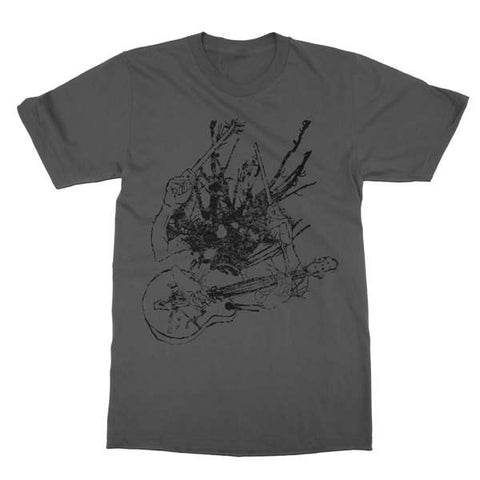 Two Gallants | Guitar & Drum T-Shirt - Asphalt