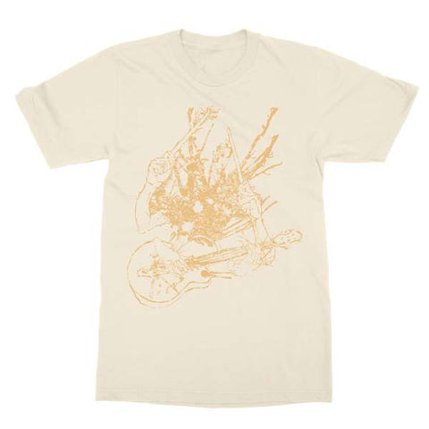 Two Gallants | Guitar & Drum T-Shirt - Natural