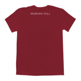 Marian Hill's Hands t-shirt in Red Back