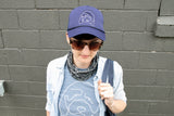 "Hannah Gadsby ""Douglas"" Trucker Cap on a live model"