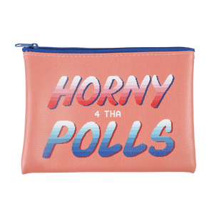 Ilana Glazer | Horny 4 Tha Polls Vegan Leather Pouch