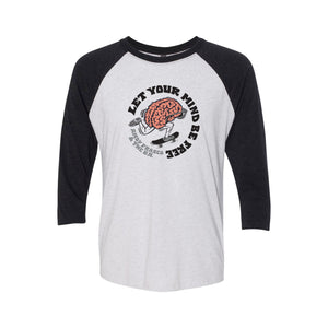 Andy Frasco | Let Your Mind Be Free Raglan
