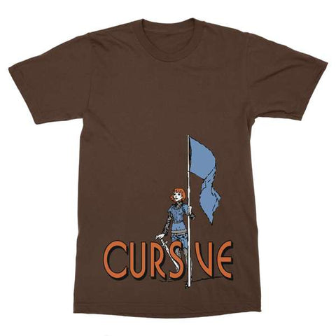 15P | Cursive - Joan of Arc T-Shirt