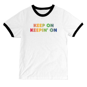 "Bleached ""Keep On Keepin' On"" T-shirt"