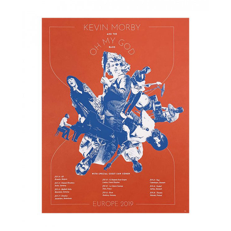 Kevin Morby | Kevin Morby And The Oh My God Band Europe Poster