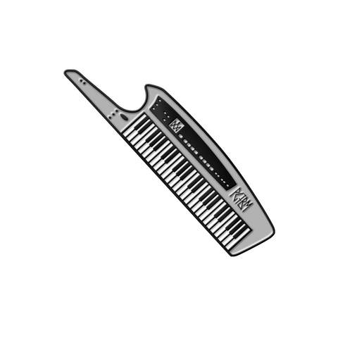 Princess Goes To The Butterfly Museum  | Keytar Pin - Grey *PREORDER*