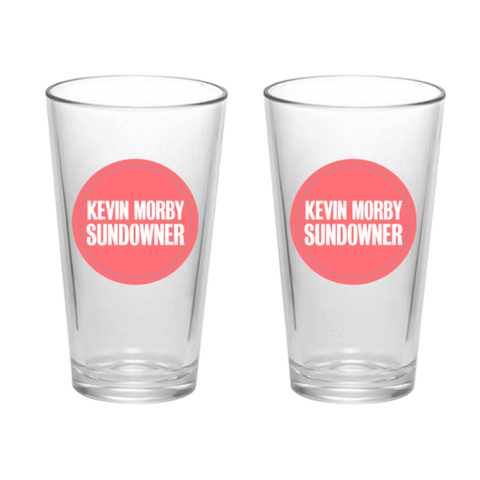Kevin Morby | Sundowner Pint Glass Set