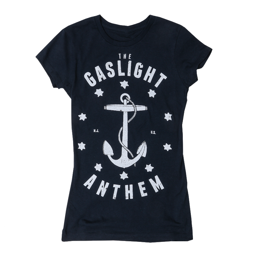 The Gaslight Anthem | Anchor T-Shirt - Ladies