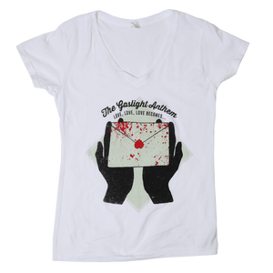 The Gaslight Anthem | Stray Paper / Love Becomes V-Neck - Ladies