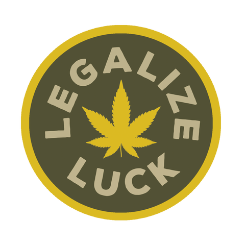 Luck Reunion | Legalize Luck Sticker -PREORDER-