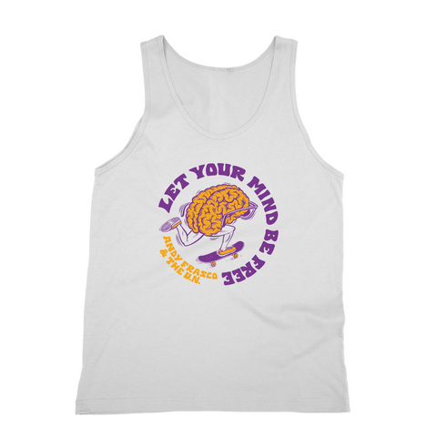 Andy Frasco | Let Your Mind Be Free Tank Top *PREORDER*