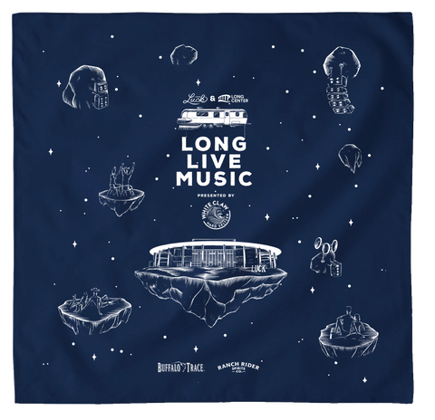 Luck Reunion | Long Live Music Bandana *PREORDER*