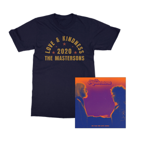 The Mastersons | No Time For Love Songs | Music + Tee Bundle