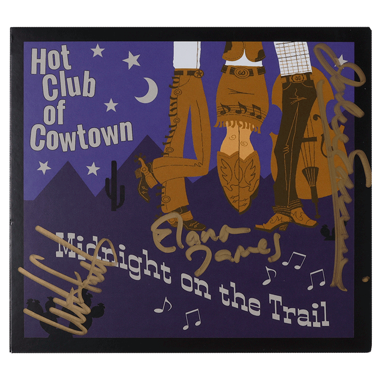 Hot Club of Cowtown | Midnight on the Trail CD (2016) *Autographed*