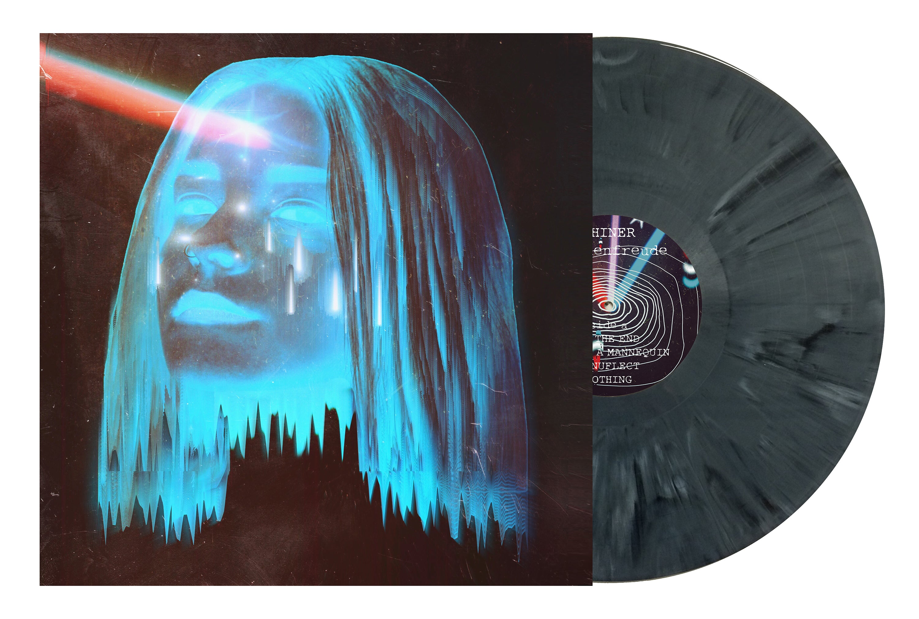 Shiner | SCHADENFREUDE - Grey Swirl Bundle LP