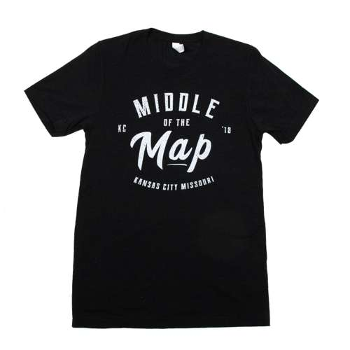 Middle of the Map Fest | 2018 Logo T-Shirt - Black