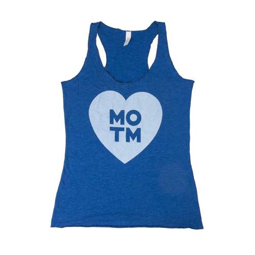 Middle of the Map Fest | Women's Heart Tank Top